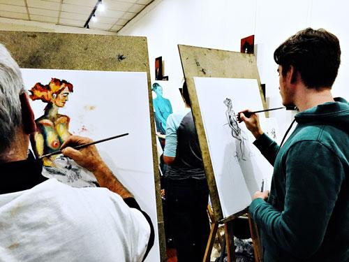 cours de dessin modele vivant bd illustration toulouse lacroix falgarde castanet tolosan axelle picard 25